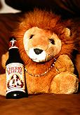 Lion with Beer